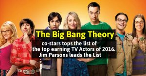 The Big bang Theory Costars