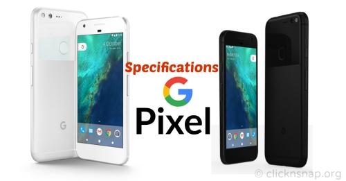google-pixel-pixel-xl-specification