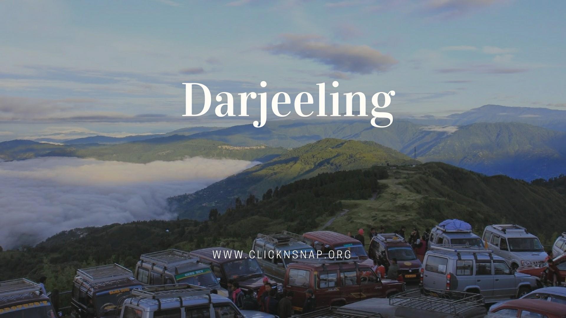 Darjeeling, India - clicknsnap