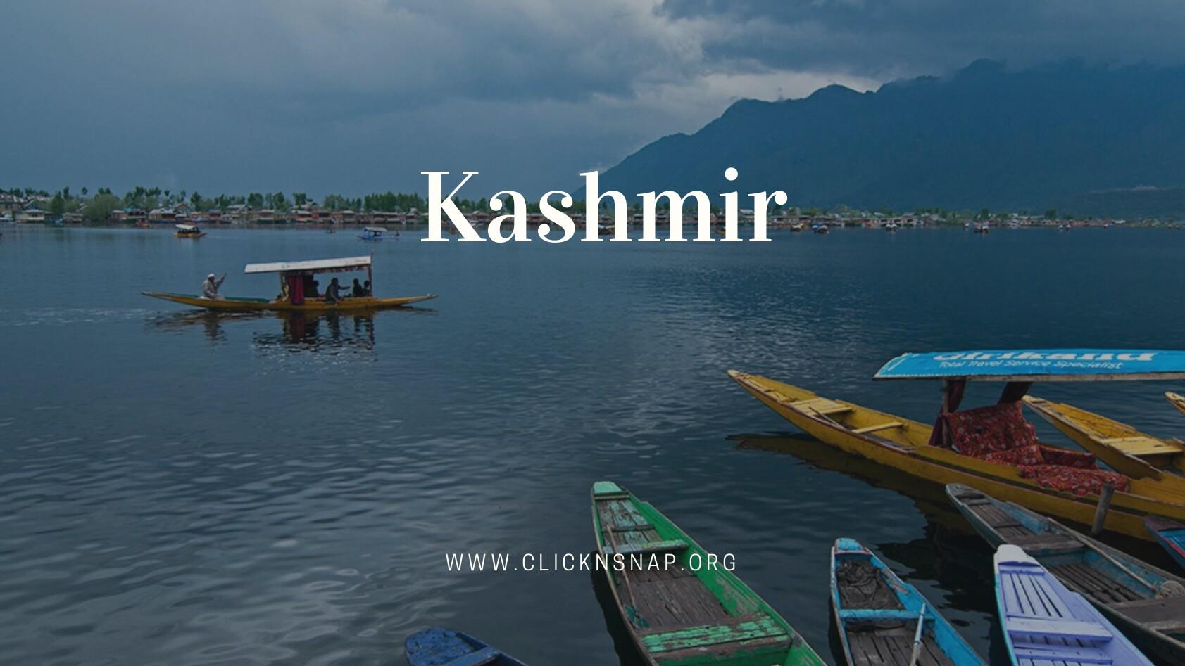 Kashmir, India - clicknsnap
