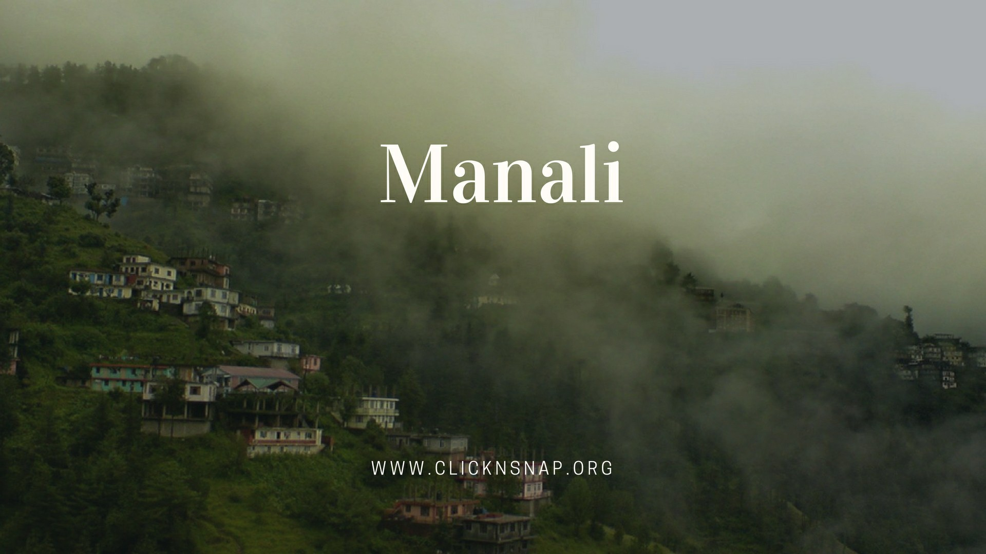 Manali, Summer Holiday, India