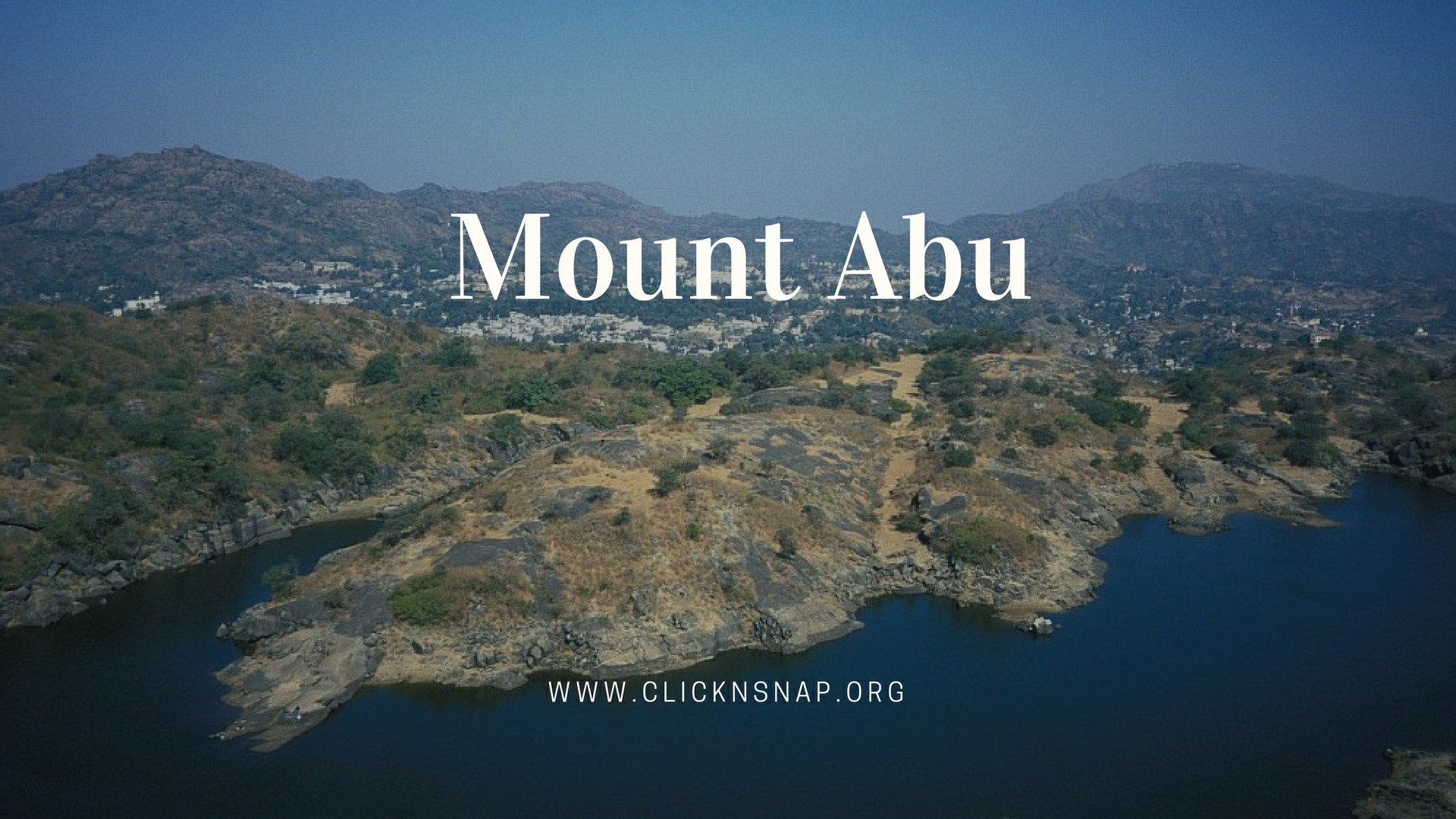 Mount Abu, Summer Holiday, India