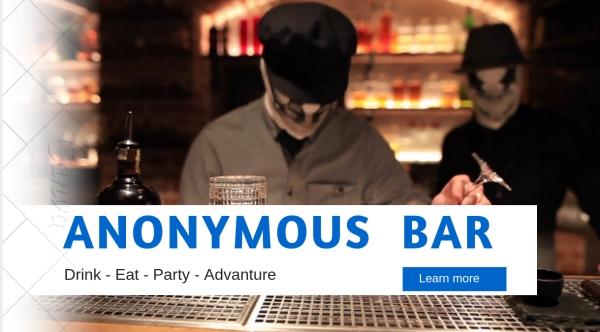 Anonymous Bar, Prague, Dining, lifestyle, hotel