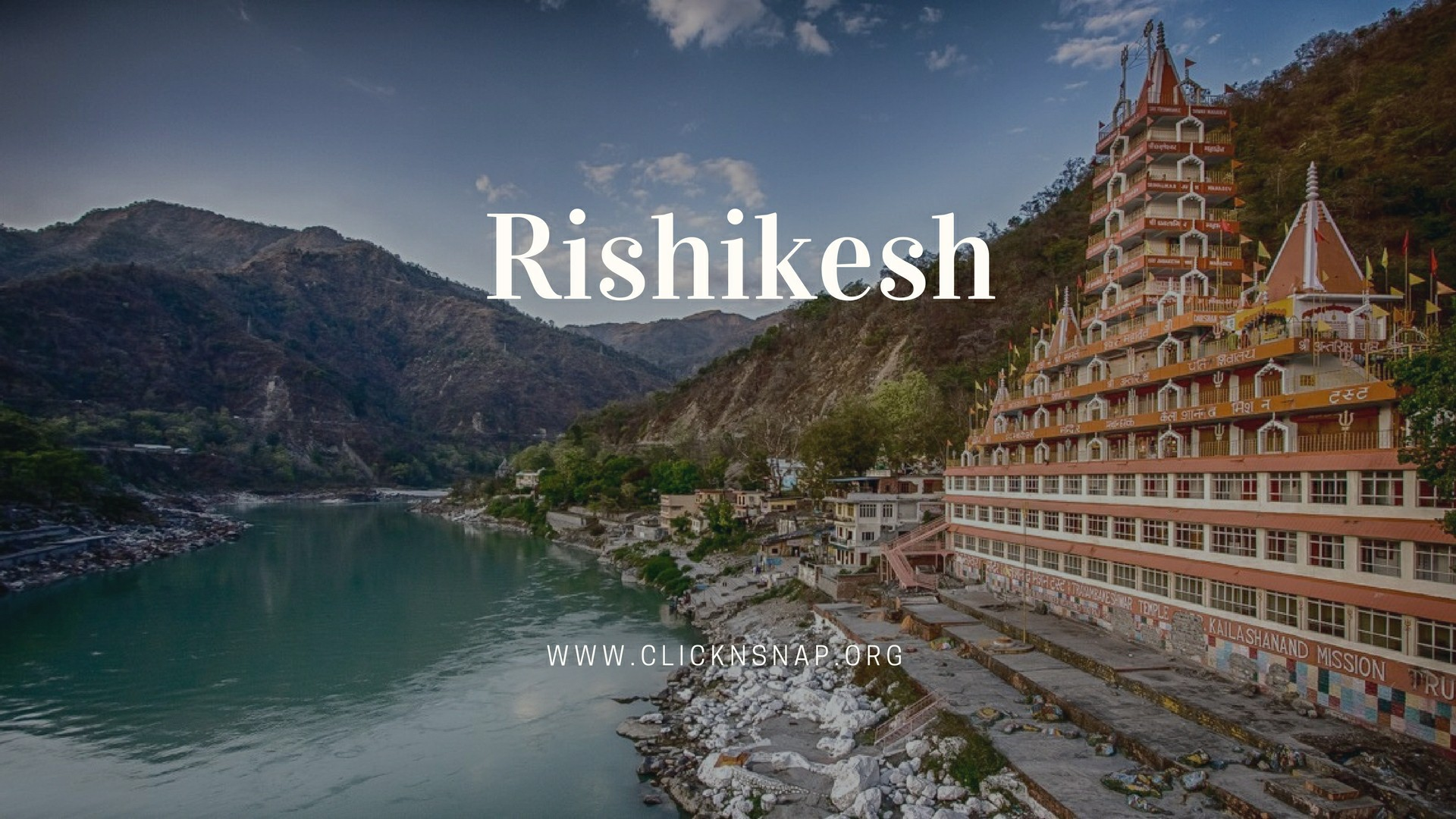 Rishikesh, Summer Holiday, India
