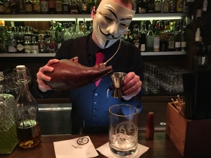 Anonymous Bar, Prague, dining, hotel, travel, drink