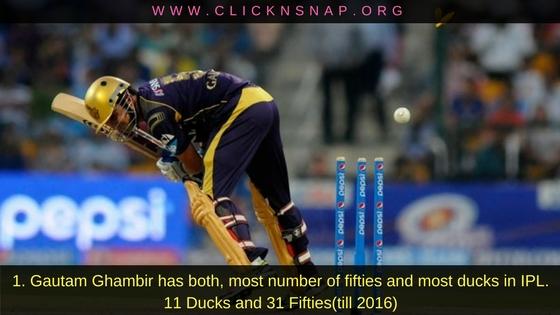 Gautam ghambhi, 10 IPL facts , IPL , IPL 2017 , IPL Facts