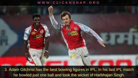 Adam Gilchrist, 10 IPL facts , IPL , IPL 2017 , IPL Facts