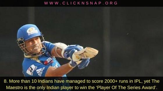 Sachin Tendulkar,10 IPL facts , IPL , IPL 2017 , IPL Facts