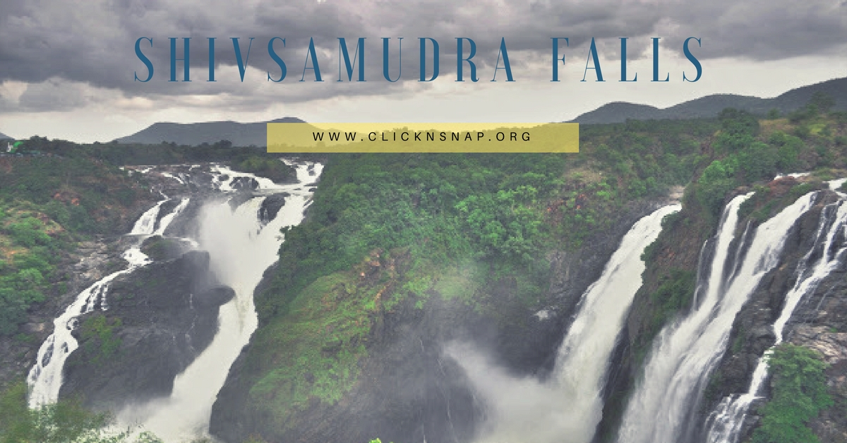 Shivanasamudra Falls, monsoon, bangalore, travel, Rain, Tour