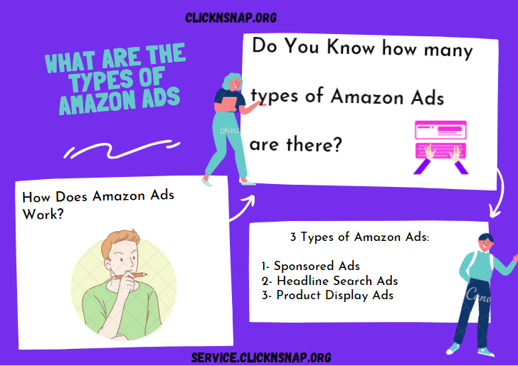 Types of Amazon Ads - Clicknsnap.org